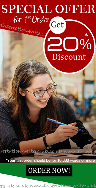 Special Offer - UK Dissertation Writers
